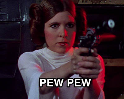 leia-with-laser-gun