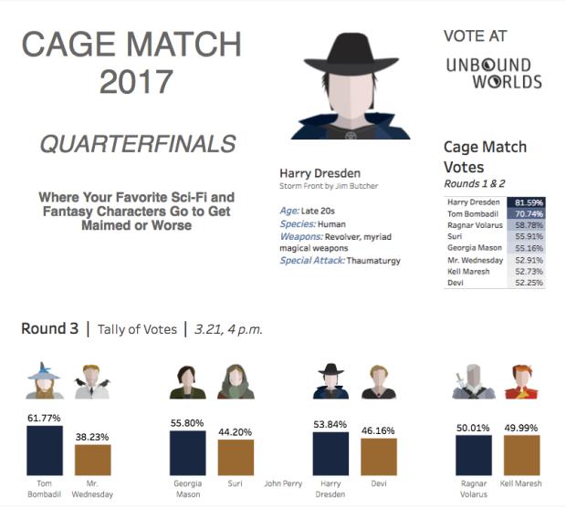 reign_cage match quarterfinals